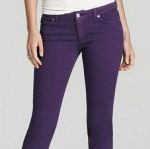 MK purple skinny jeans